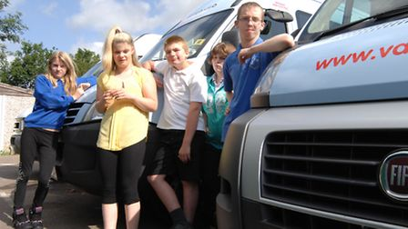 Samuel Peyps School, St Neots, have had Fuel Thefts from their mini buses, pupils Ebony, Sarah, Jami