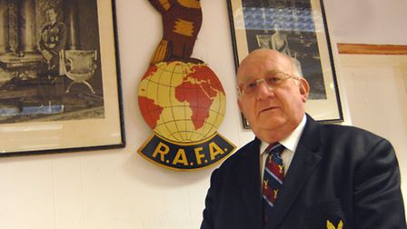 Neil Donoghue of Little Paxton has been awarded the highest honour that a member of the Royal Air Fo