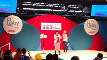 2013 Baby Show main stage