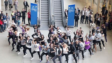 Living the Dream will have their flashmob shown on The Nations Favourite Dance Moment on ITV on Satu