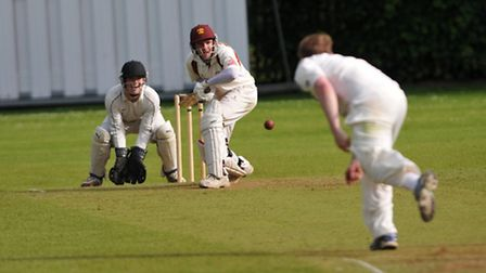 Richard Winchester scored 48 for Wheathampstead. Picture by Alastair Cowe