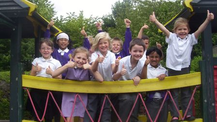 "Pupils at Roman Way give their ""Good"" Ofsted report the thumbs-up"