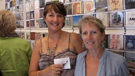 Sadie Homer & Sue Hobley, Macmillan Cancer Support fundraisers
