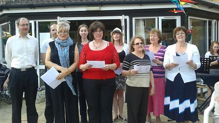 Members of St Albans Operatic Society