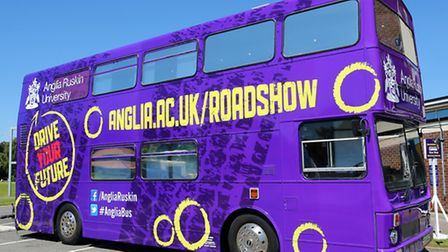 ARU's Roadshow bus is coming to ROyston