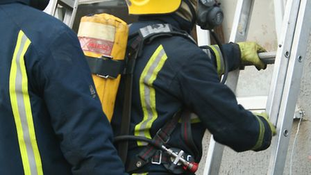 House fire tackled by firefighters