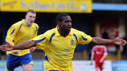 Chris Henry has re-signed for St Albans City FC. Picture by Leigh Page