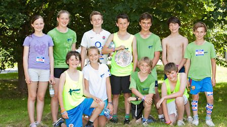 Race organising committee. Top row left to Right - Emily Moore, Annabel Follows, Henry Moore, Tom Ho