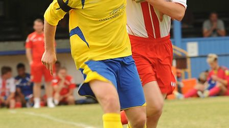 Richard Graham in action for St Albans. Picture by Bob Walkley