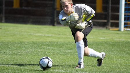 Nick Jupp kept a clean sheet in a trial match for Barnet FC.