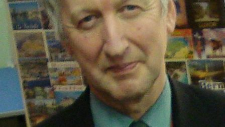Howard Gilbert, who retired as headteacher of St Ivo school on the last day of term