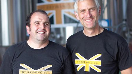 Gareth Xifaras (left) and Russell Taylor - picture by Alexander Wright