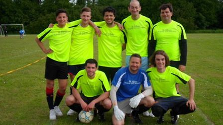 St Albans School of Languages' International All-Stars Football squad played recently at a six-a-sid
