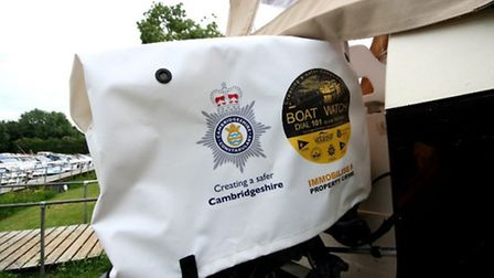 New Cambs Boat Watch anti-theft outboard cover scheme