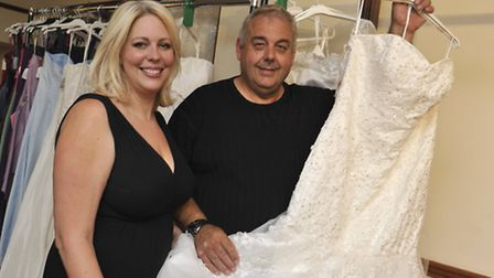 Heart Brides is offering to give dresses to five most tragic cases from Olivia Grace, (l-r) Zoie Dav
