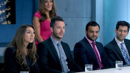 Luisa was given one final shot to win over Lord Sugar in the boardroom
