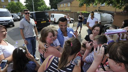 Peter Andre in Huntingdon