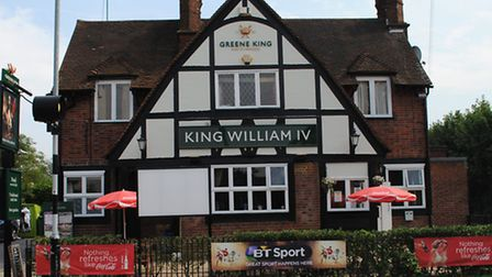 The King William IV in St Albans