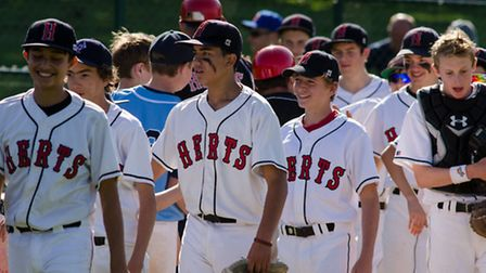 Herts Harriers earned a semi-final berth with a 21-2 win over Leicester. Picture by Richard Lee Phot