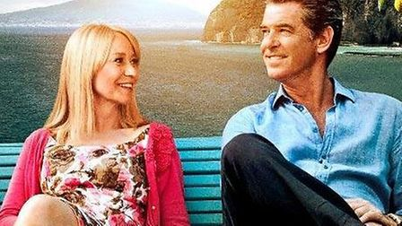 Trine Dyrholm and Pierce Brosnan star in Love Is All You Need.