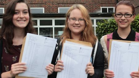 Students at Sir John Lawes School were thrilled with GCSE results