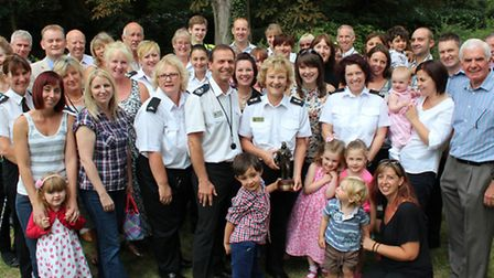Fire service call handler Pat retires after 30 years