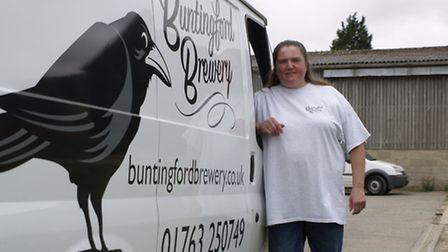 Catherine Murphy of Buntingford Brewery