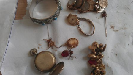 Jewellery found at bottom of river