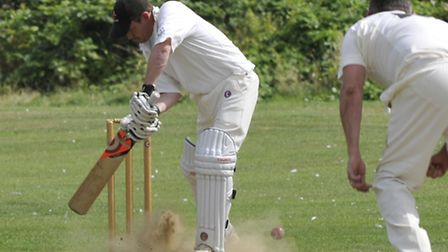 Godmanchester II v Nassington in Division One of the Hunts County Bats Hunts League. Picture: Helen