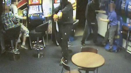 Armed robbery in Cambridge