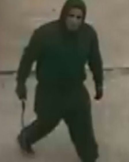 Police want to trace this man in connection with a caravan theft