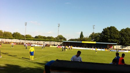 St Albans City beat Corby Town 1-0 at Clarence Park.