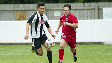 Dan Bannister came on as a sub for the injured Jared Cunniff. Picture: Louise Thompson.