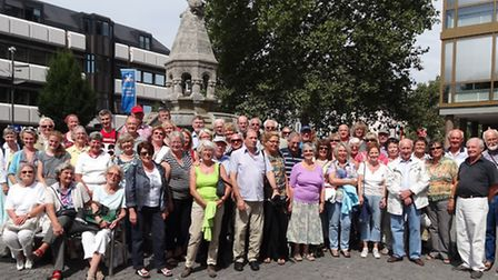 Friends of Alzey at 50th anniversary celebration