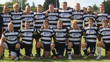 Royston Rugby Team Photograph