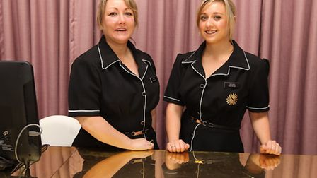 The Skin Shop and Clinic Managing Director Jane Lewis with Clinic Manager Kerri Lewis