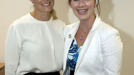 The Countess of Wessex with Nicki Freeman