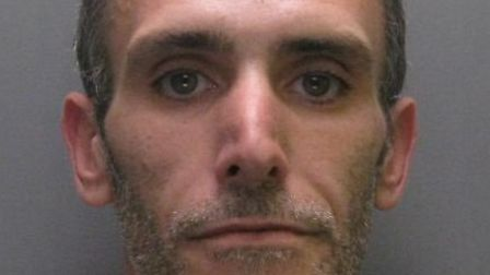 Wayne Hartop who was jailed for two years and nine months after pleading guilty to robbery