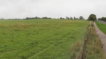 The proposed site for a new school off Lower Luton Road