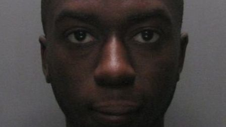 Leon Caine who was sentenced to four years in prison for armed robbery