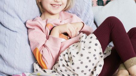Holly Greenhow who is featured in a Boden campaign.