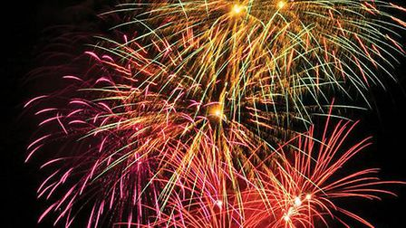 Firework displays are taking place across Comet country from tonight