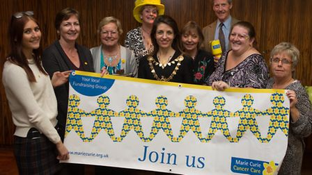 St Albans fundraising group for Marie Curie Cancer Care was recently successfully launched at the Ol