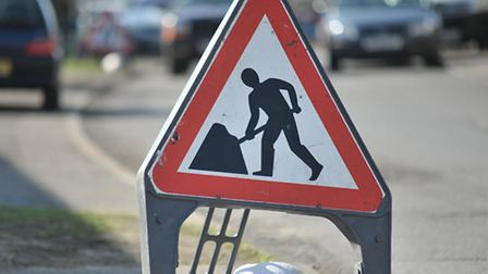 The road works begin on Lower Luton Road on Monday
