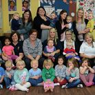 Staff and youngsters at Clarence House Day Nursery in Godmanchester celebrate an outstanding Ofsted