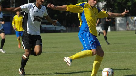 James Gray has donned the St Albans City shirt twice this season. Picture by Bob Walkley