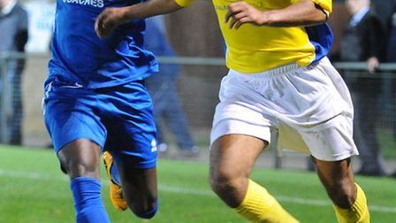 James Comley was a rare bright spot for St Albans in their 2-2 draw with Bedford Town on Tuesday eve