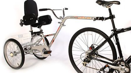 The specially-adapted bike was stolen from Southdown Road in Harpenden