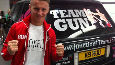 Tommy Martin with his new motor from sponsors Junction 17 Motors of Yaxley. Picture: Richard Hughes