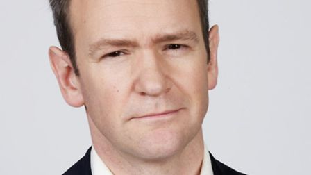 Alexander Armstrong will be singing with his band at the Alban Arena in St Albans